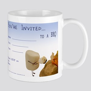 BBQ - Party Invitation Mug