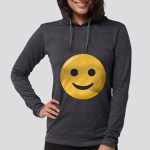 Smiley Face Emoji Womens Hooded Shirt