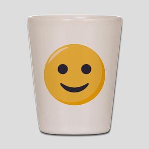 Smiley Face Emoji Shot Glass
