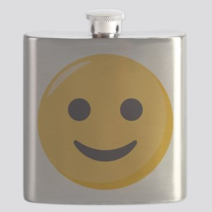 Smiley Face Emoji Flask