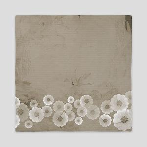 Classic Floral Queen Duvet