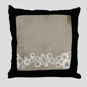 Classic Floral Throw Pillow