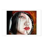 """""""Red"""" Postcards (Package of 8)"""