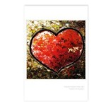 """""""Chaos in Heart"""" Postcards (Package of 8"""