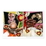 """""""Modern Romance"""" Postcards (Package of 8"""