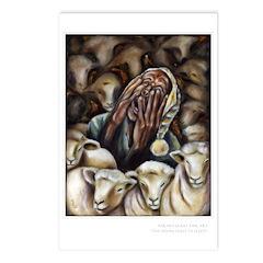 """Too Many Sheep To Sleep"" Postcards (Pac"