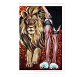 """""""Leo"""" Postcards (Package of 8)"""