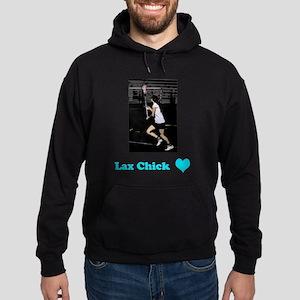 Lax Chick Hoodie (dark)