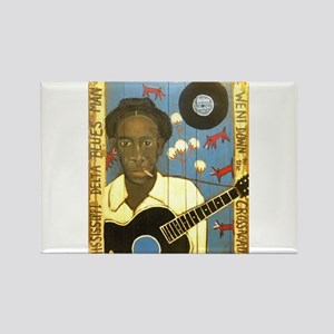 Robert Johnson Hell Hound On My Trail Rectangle Ma