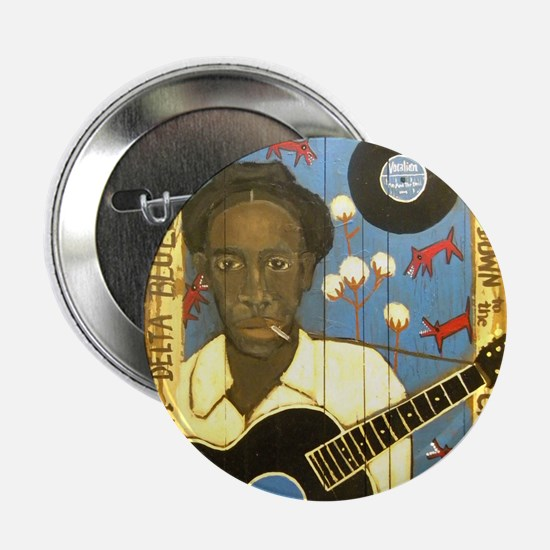 "Robert Johnson Hell Hound On My Trail 2.25"" Button"
