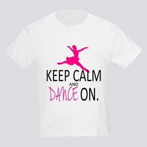 Keep Calm and Dance On Kids Light T-Shirt