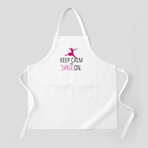 Keep Calm and Dance On Apron
