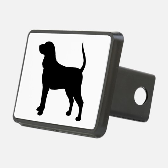 Black & Tan Coonhound Hitch Cover