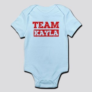Team Kayla Infant Bodysuit