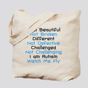 Iam Autism Watch Me Fly Tote Bag