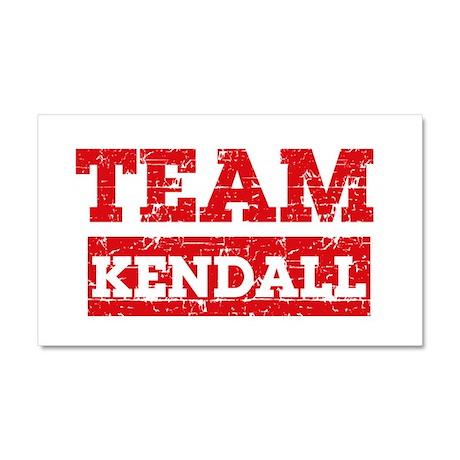 Team Kendall Car Magnet 20 x 12