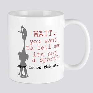 Meet Me on the Mat Mug