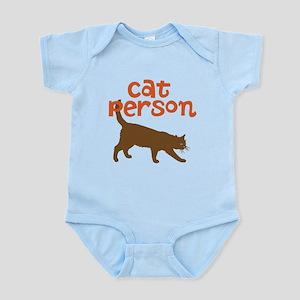 cat person Infant Bodysuit