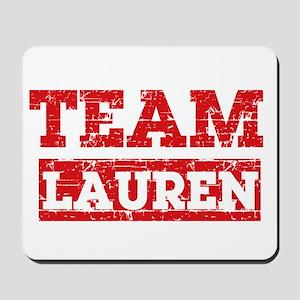Team Lauren Mousepad
