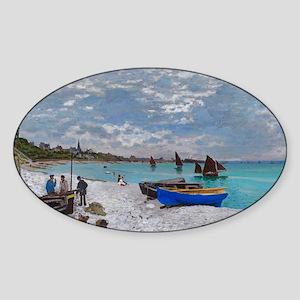 Monet - Saint Adresse Sticker (Oval)