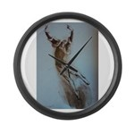 Pearl Lover-R Large Wall Clock