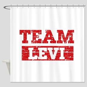 Team Levi Shower Curtain