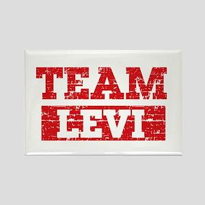 Team Levi Rectangle Magnet