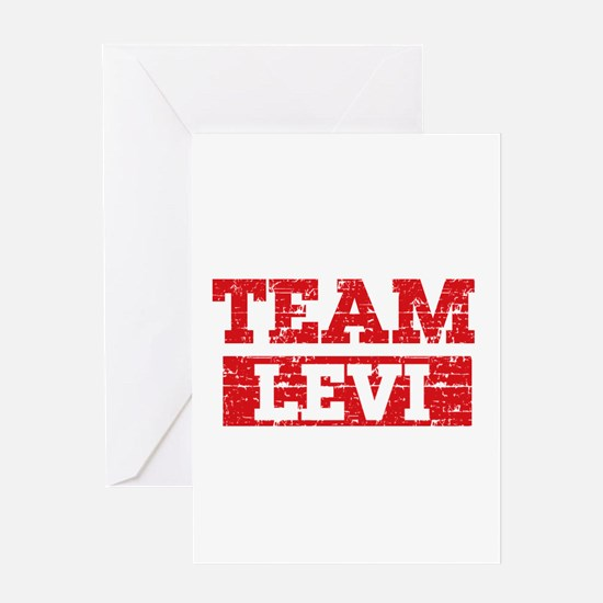 Team Levi Greeting Card