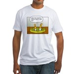ashtray Fitted T-Shirt