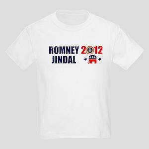 ROMNEY JINDAL PRESIDENT 2012 BUMPER STICKER Kids L