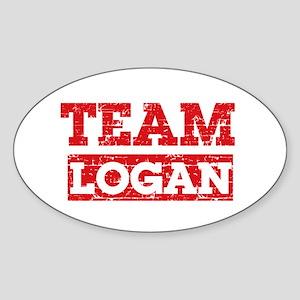 Team Logan Sticker (Oval)