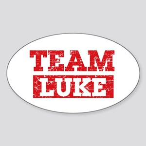 Team Luke Sticker (Oval)