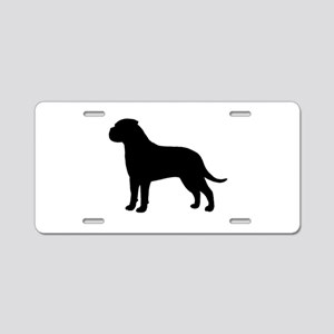 Bullmastiff Aluminum License Plate