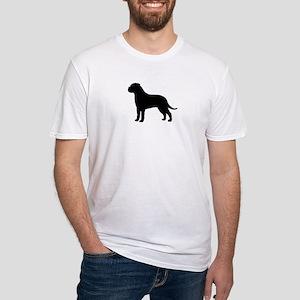 Bullmastiff Fitted T-Shirt