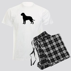 Bullmastiff Men's Light Pajamas