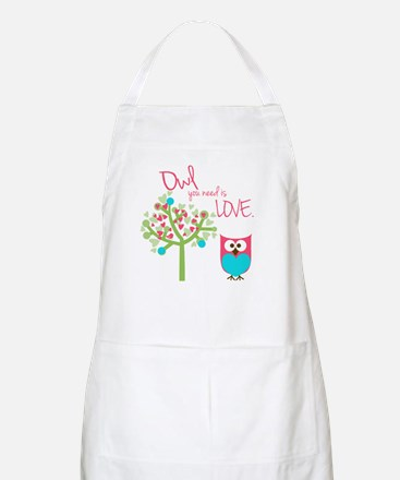 Owl You Need is Love Apron