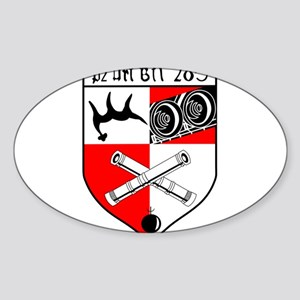 Panzerartilleriebataillon 285 Sticker (Oval)