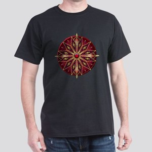 Native American Rosette 13 Dark T-Shirt
