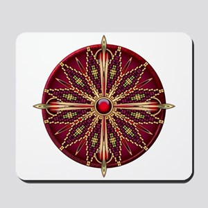 Native American Rosette 13 Mousepad