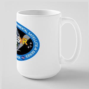 GEOS-R Logo 15 oz Ceramic Large Mug