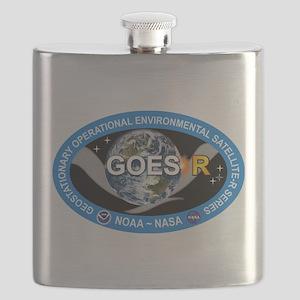 GEOS-R Logo Flask