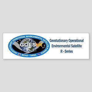 GEOS-R Logo Sticker (Bumper)