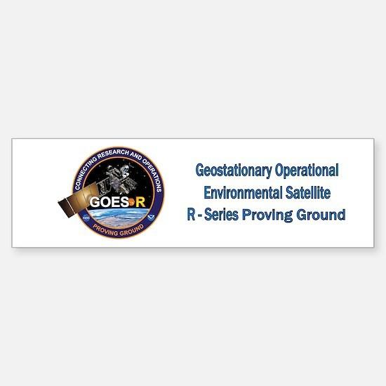 GEOS-R Proving Ground Sticker (Bumper)