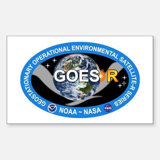 GEOS-R Logo Sticker (Rectangle)