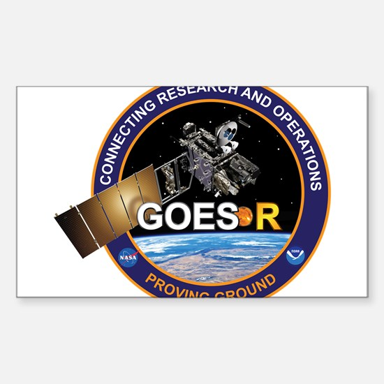 GEOS-R Proving Ground Sticker (Rectangle)