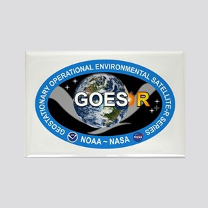 GEOS-R Logo Rectangle Magnet