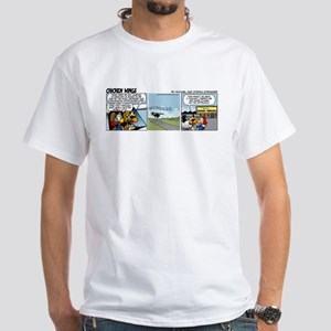 0656 - Landing in Oshkosh White T-Shirt