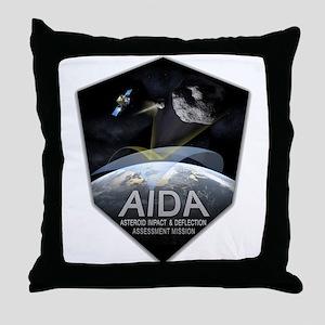 AIDA Mission Throw Pillow