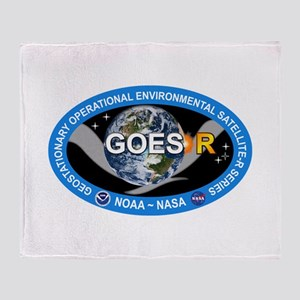 GEOS-R Logo Throw Blanket
