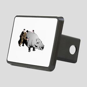 Hippo Rectangular Hitch Cover
